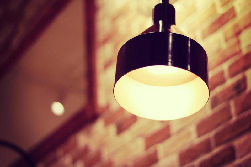 ライトの光