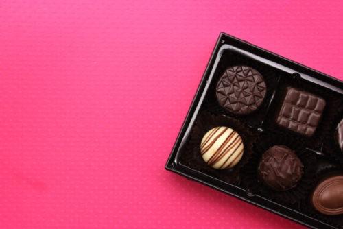 箱入りのチョコレート