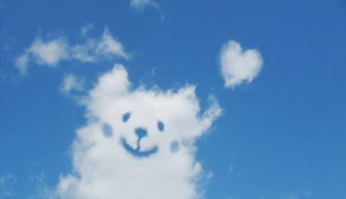 空とかわいい雲