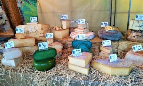 チーズの山
