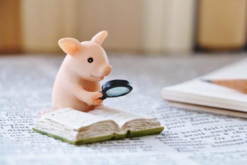 豚のミニチュア