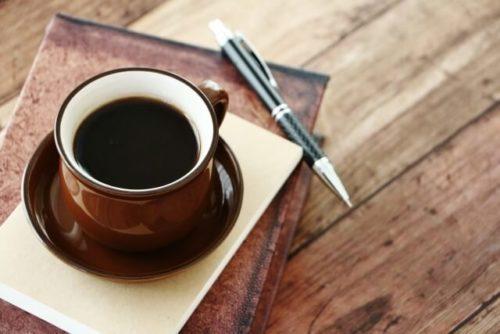 珈琲とペン