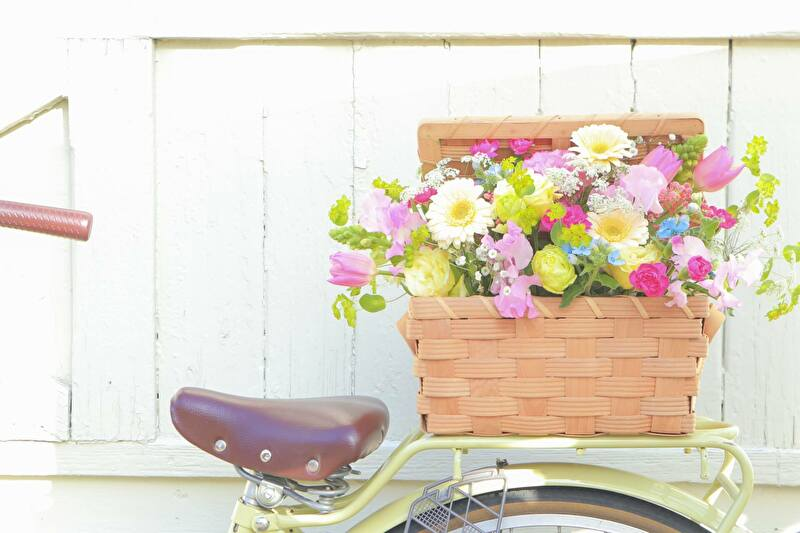 自転車の籠