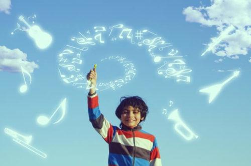 少年と音楽