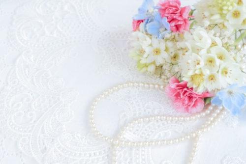 パールと花