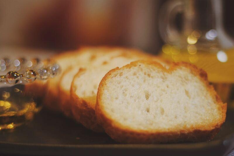 薄切りパン